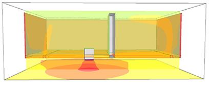 熱のシミュレーション