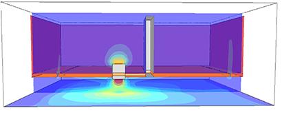 気流のシミュレーション